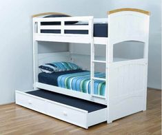 A convertible bunk bed that offers the convenience of a double bunk for the younger kids, then transforms into two separate single beds as they grow older. That's 3 different sleeping arrangements for 1 affordable price.