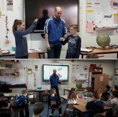 OBS De Nienekes | Martijn van Scouting Cuijk heeft vandaag een gastles gegeven over GPS in groep 7 en 8. Morgen gaan de groepen 5,6,7 en 8 het geleerde in praktijk brengen