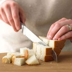 Easy, homemade bread cubes are perfect for stuffing recipes, breakfast casseroles, and other tasty recipes. Learn the right way to make bread cubes.