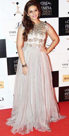 Huma Qureshi at the L'Oreal Paris Femina Women Awards 2014.
