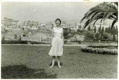 Solange Bertrand à Naples en 1963. www.fondationsolangebertrand.org