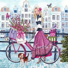 Illustrations Greeting Cards 2014 by Cartita Design, via Behance