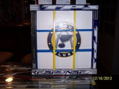 Hockey Stick Custom Puck Display Case by TheStickdoctor on Etsy, $45.00