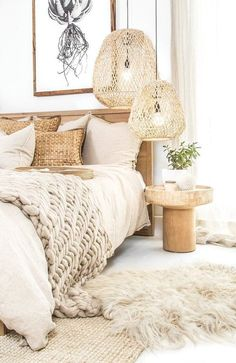 Home Decor Habitacion .Home Decor Habitacion Diy Home Decor For Apartments, Home Decor Paintings, Home Decor Bedroom, Bedroom Ceiling, Bedroom Country, Bali Bedroom, Master Bedroom, Boho Chic Bedroom, Bedroom Simple