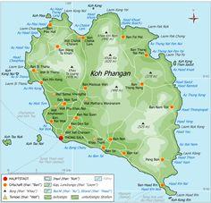 Bienvenue à Koh Phangan, cette île du sud du golf de Thaïlande fait partie d'un archipel de 3 iles principales : Koh Samui, Koh Phangan et Koh Tao. Nous vous proposons ici de découvrir Koh Phangan, la plus sauvage des trois îles. (mais fêtarde aussi ...) Grâce à une classification d'une bo…