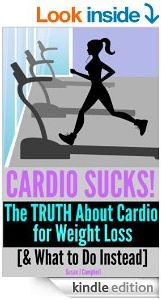 The truth about cardio and weight loss {hint: it's not what you think] and what to do instead....