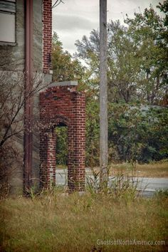 Ghost town of Cardin, Oklahoma