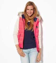 AE Down Puffer Vest