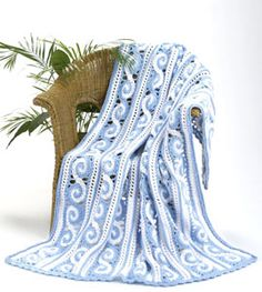 Crochet Spiral Afghan. Free pattern from http://www.favecrafts.com/Crochet-Afghans/Spiral-Afghan-Crochet-Pattern-from-Caron-Yarn/ct/1#.