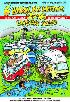 6th Balkan Bus Meeting July, 8th – 10th, 2016 Langadas, Greece.