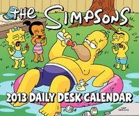 The Simpsons Daily Desk Calendar 2013