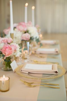 Get inspired by this Romantic Pink & Gold Loft Styled Shoot. Discover the vendors responsible for this stunning event, and book them for your big day. Wedding Bride, Wedding Colors, Palette, Table Decorations, Rose, Pink, Stuff To Buy, Inspiration, Home Decor