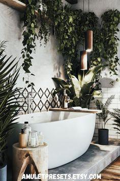 Dream Bathrooms, Beautiful Bathrooms, Dream Home Design, My Dream Home, Style Deco, Bathroom Interior Design, Interior Decorating, Bathroom Inspiration, Home And Living