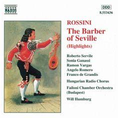 Barber of Seville (The) (Highlights)-Franco de Grandis-Naxos