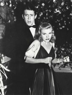 "Jimmy Stewart and Ginger Rogers in ""Vivacious Lady"""