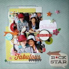 Fabulous Friends with Pink Paislee Hey Kid papers
