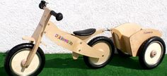 Childs Balance Bike and Trailer