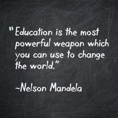 Quienes tenemos la oportunidad de estudiar, debemos de preocuparnos por que todo aquel que no tenga acceso a la educación, la tenga.