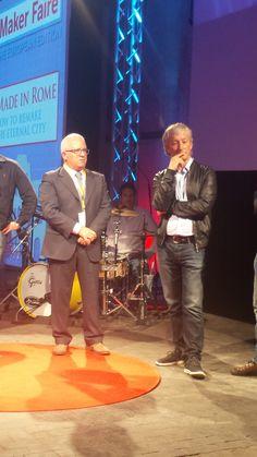 Raffaele Rubinacci con il Digital Champion Riccardo Luna