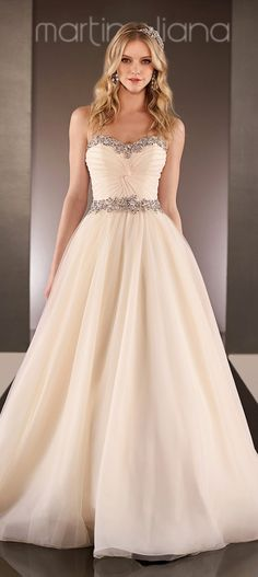 The Newest Runway Collection for Future Brides of 2015 | Mine Forever