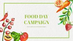 Presenta tu campaña de marketing para el Día Mundial de la Alimentación con esta plantilla gratuita para Google Slides y PowerPoint Effective Presentation, Online Presentation, Presentation Templates, Presentation Design, Agriculture Business, Cute Slides, Biology Lessons, Food Backgrounds, Microsoft Powerpoint