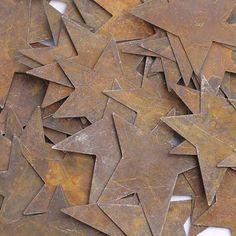 Primitive Crafts | ... Primitive Stars - Rusty Tin Cutouts - Basic Craft Supplies - Craft