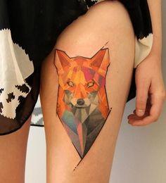 #fox #tattoo