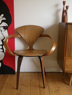 Mid Century Norman Cherner Pretzel Chair