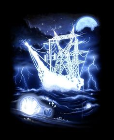 high voltage ghost ship