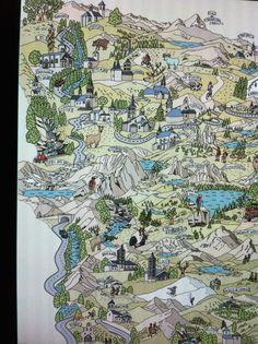 Vall d,Aran map