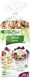 REWE Bio Müsli Beeren