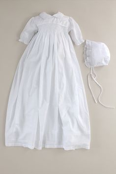 Malaga Christening Gown cd45 from Oli Prik for GBP88 only at oliprik.com Christening Gowns