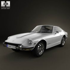 Datsun 240Z 1970 3d model from humster3d.com. Price: $75