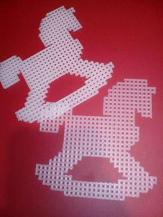 Christmas Ornaments Plastic Canvas Cut Outs by KyLosCraftyCorner