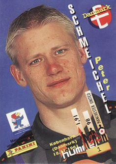 1998 Panini World Cup #1 Peter Schmeichel Back