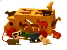 Animal Shape Truck    The animals can be slotted through their respective shapes in the lorry, taken for a walk and let out again via the rising `gate` at the rear of the truck. A fun wooden toy for toddlers and young children that helps a child develop shape sorting and matching skills, hand to eye coordination and motor skills, whilst also fuelling your child`s imagination.    View here > http://www.smartstart-toys.co.uk/wooden-toys/animal-shape-truck.html