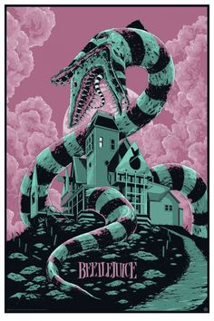 Cool BEETLEJUICE Mondo Poster Art from Ken Taylor - News - GeekTyrant
