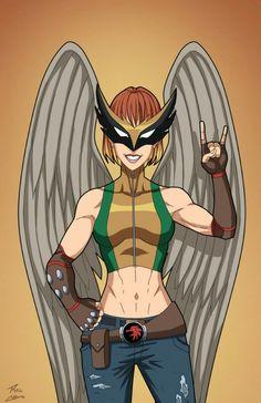 Hawkgirl commission by phil-cho on DeviantArt Superhero Characters, Dc Comics Characters, Batgirl, Supergirl, Comic Character, Character Concept, Concept Art, Hq Dc, Dc Comics Superheroes