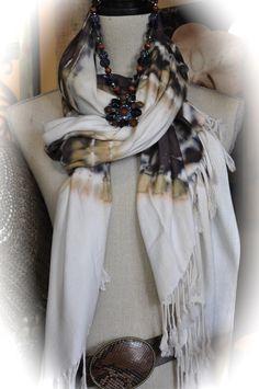 scarves, vintage necklaces, belts