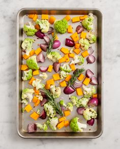rosemary roasted veggies / love and lemons