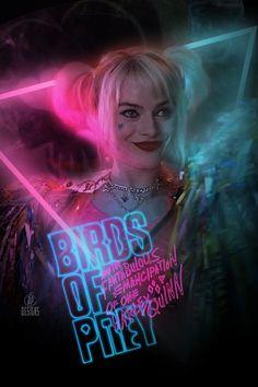Margo Robbie, Margot Robbie Harley, Harley Quinn Halloween, Harley Quinn Comic, Female Shorts, Bird Book, Aesthetic Collage, Birds Of Prey, Comic Book Characters