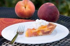 Fresh Peach Pie   Chef J. Looney