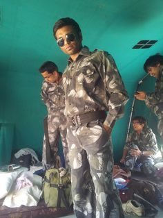 This is the pic when i was joined a army camp for a month and i done lots of fun there...