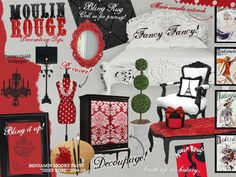 Moulin Rouge- Decorating Tips  wakeupfrankie.com