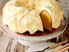 Luscious Lemon Pound Cake with COOL WHIP Frosting