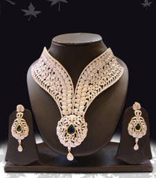 Buy Design no. 12.2302....Rs. 22950 necklace-set online