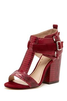 Carri Heel Sandal by Elizabeth and James $189, down from $350. js