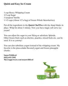 Quick and Easy Ice Cream