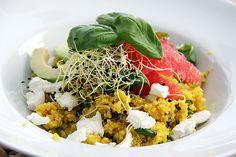 Fruitige quinoa