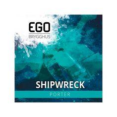 Shipwreck bryggesett fra EGO. En deilig porter fra EGO Brygghus som er et mikrobryggeri i Fredrikstad. Nærmere bestemt på Torp. Shipwreck